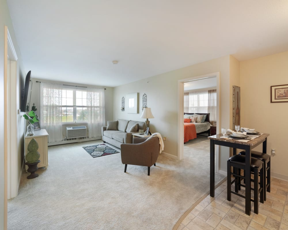 1 Bedroom apartment at The Hearth at Stones Crossing in Greenwood, Indiana