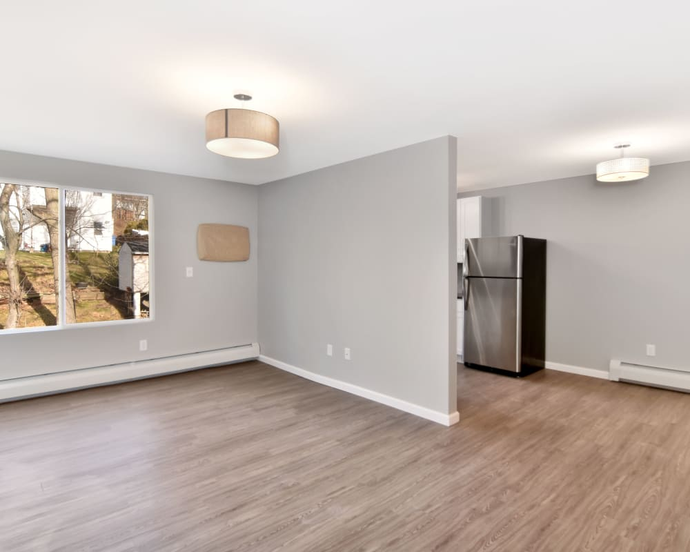 Spacious living room with a view at Springwood Gardens