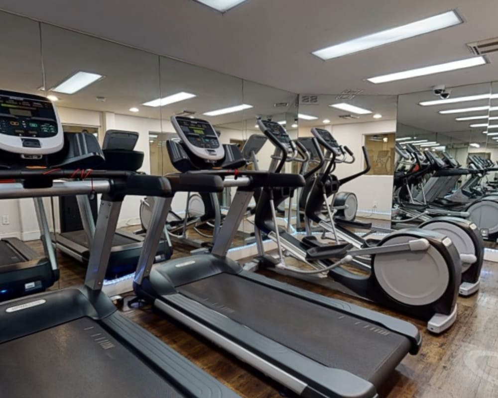 Take a virtual tour of our fitness center at Sunset Barrington Gardens in Los Angeles, California