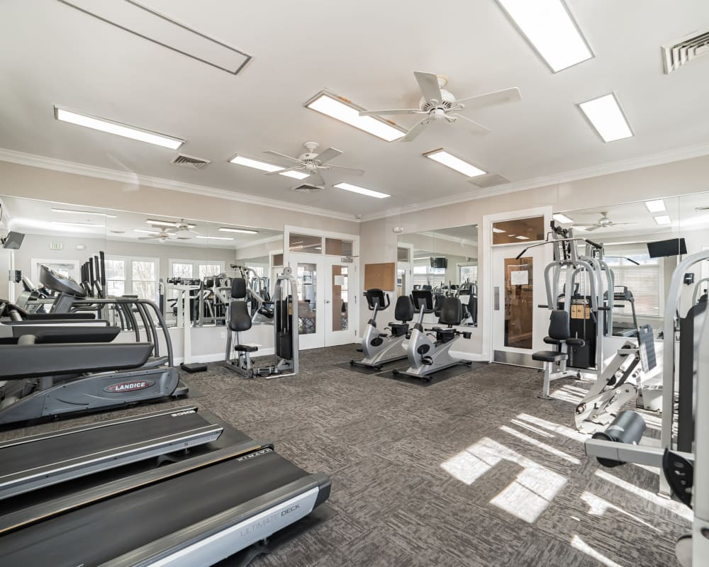 Indoor Gym at The Blvd at White Springs in Nottingham, Maryland
