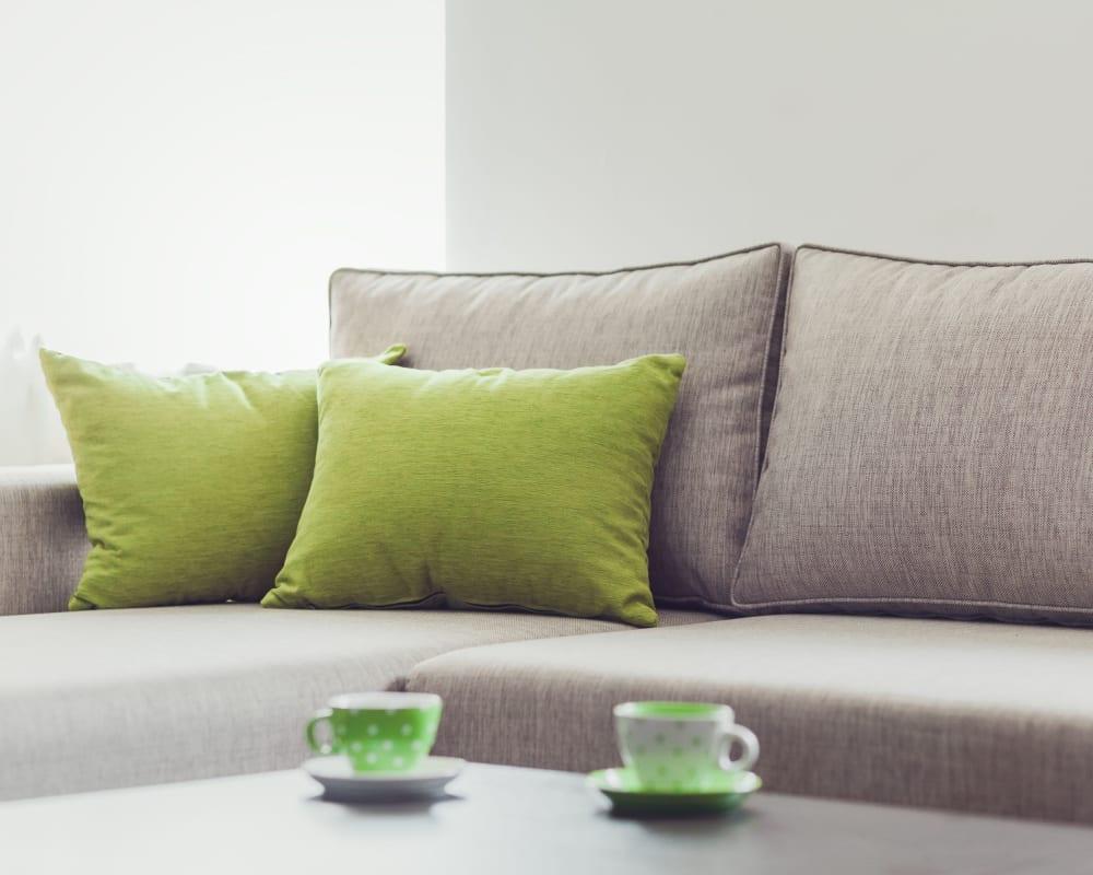 Living room at Laurel Ridge in Northampton, Massachusetts