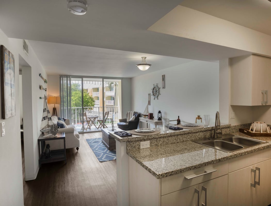 Apartment Features at Ocean Walk Apartments in Key West