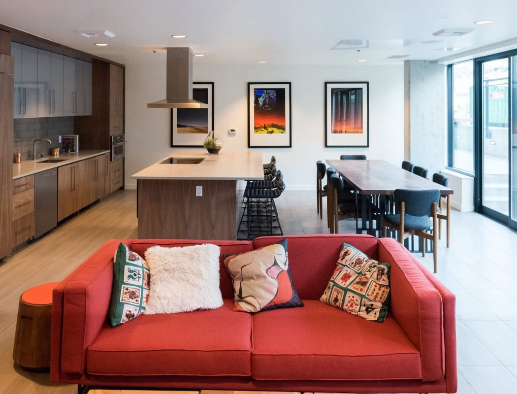 Beautiful interiors at Rooster Apartments in Seattle, Washington
