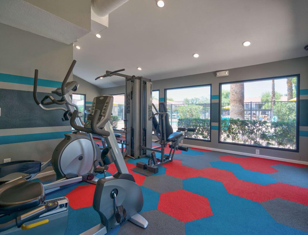 Fitness center at Argenta Apartment Homes in Mesa, Arizona