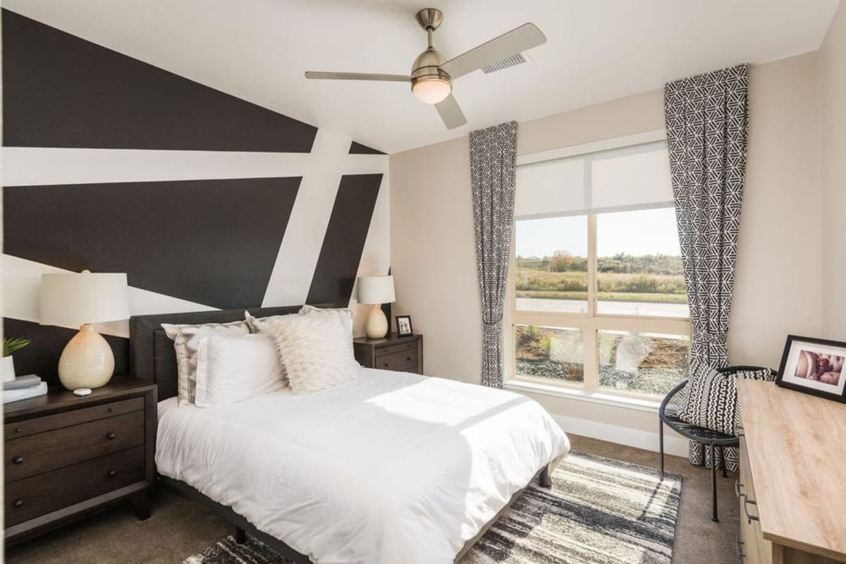 Beautiful Bedroom at Solana Lucent Station in Highlands Ranch, Colorado