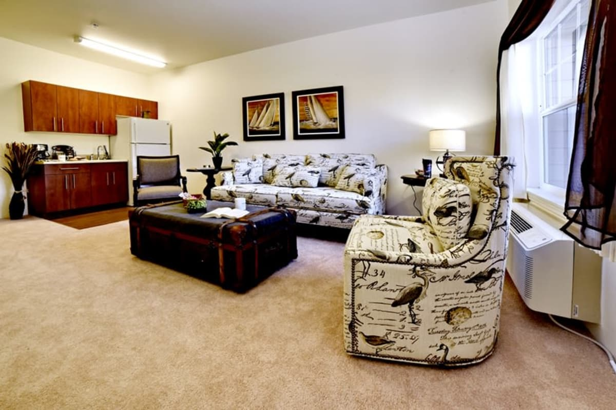 Floor plans at Somerset Assisted Living in Gladstone, Oregon