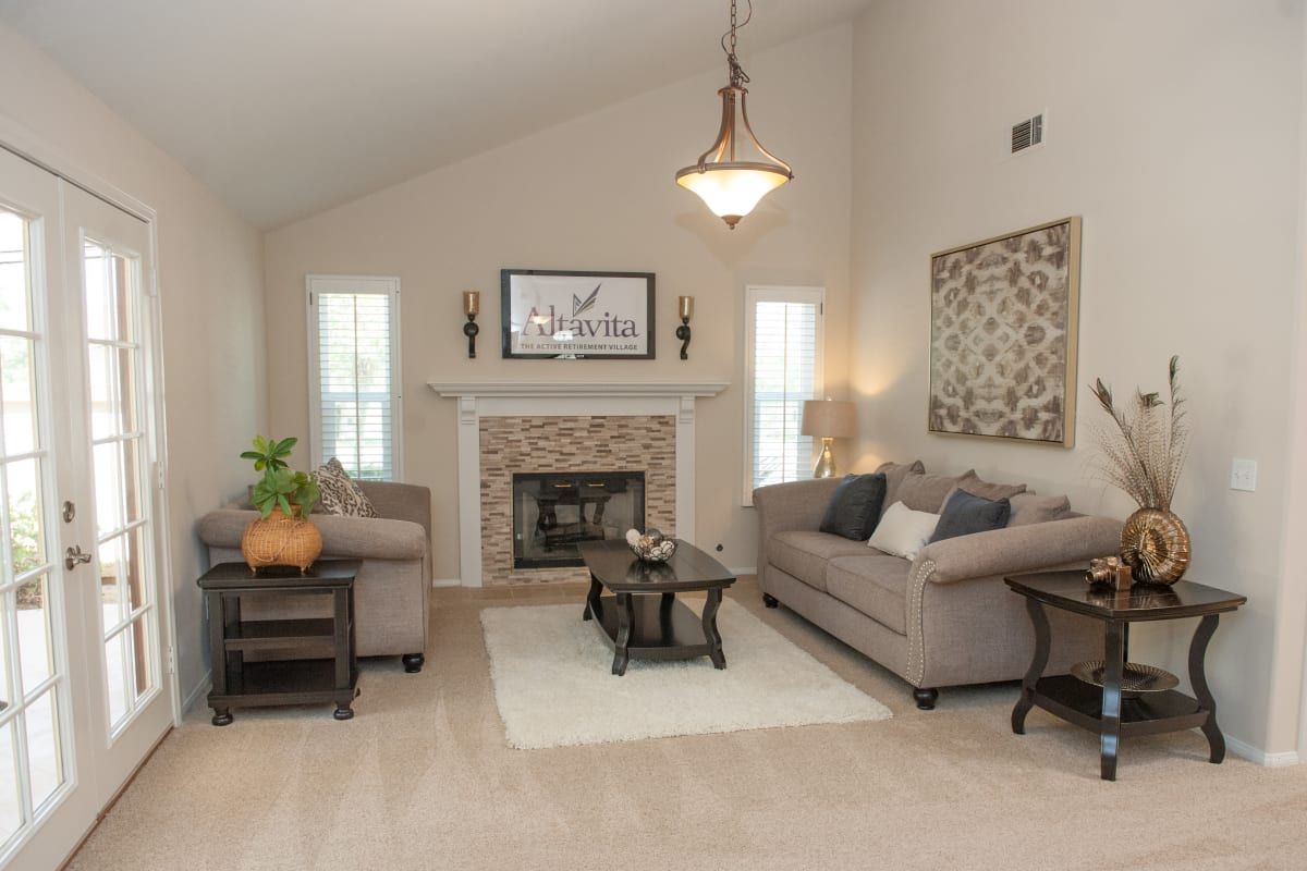 Open floor plan at Westmont Village in Riverside, California