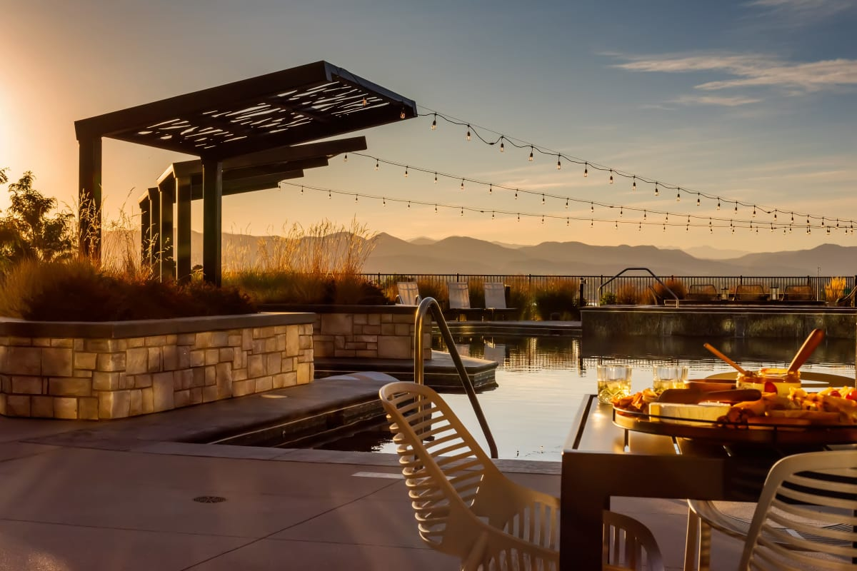 Solana Lucent Station offers a Swimming Pool in Highlands Ranch, Colorado