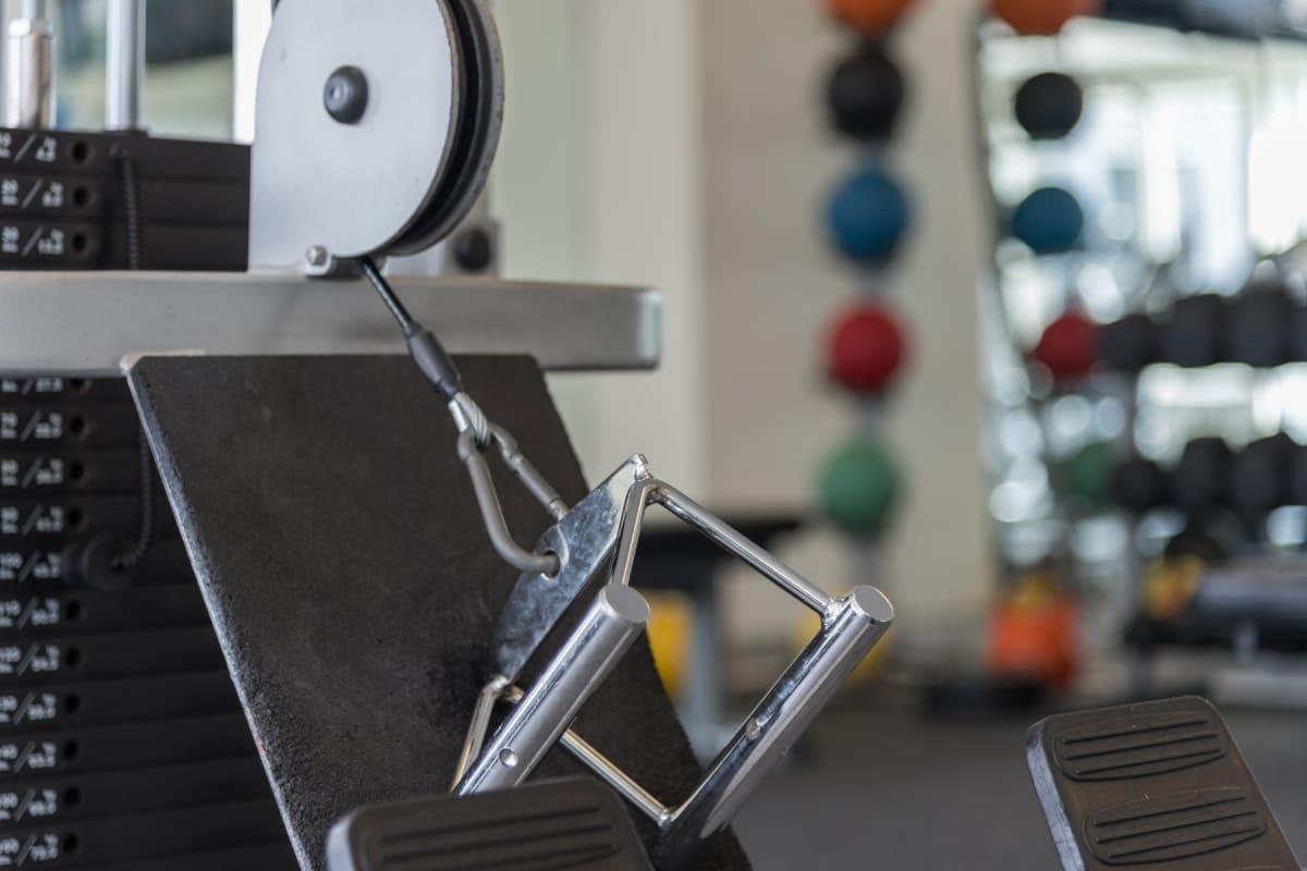 State-of-the-art fitness center at Indigo 19 in Virginia Beach, Virginia