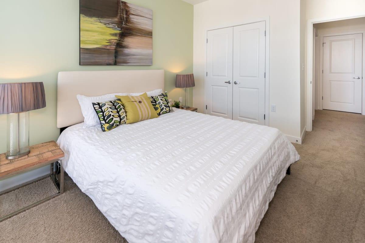 Bright, spacious bedroom at Indigo 19 in Virginia Beach, Virginia