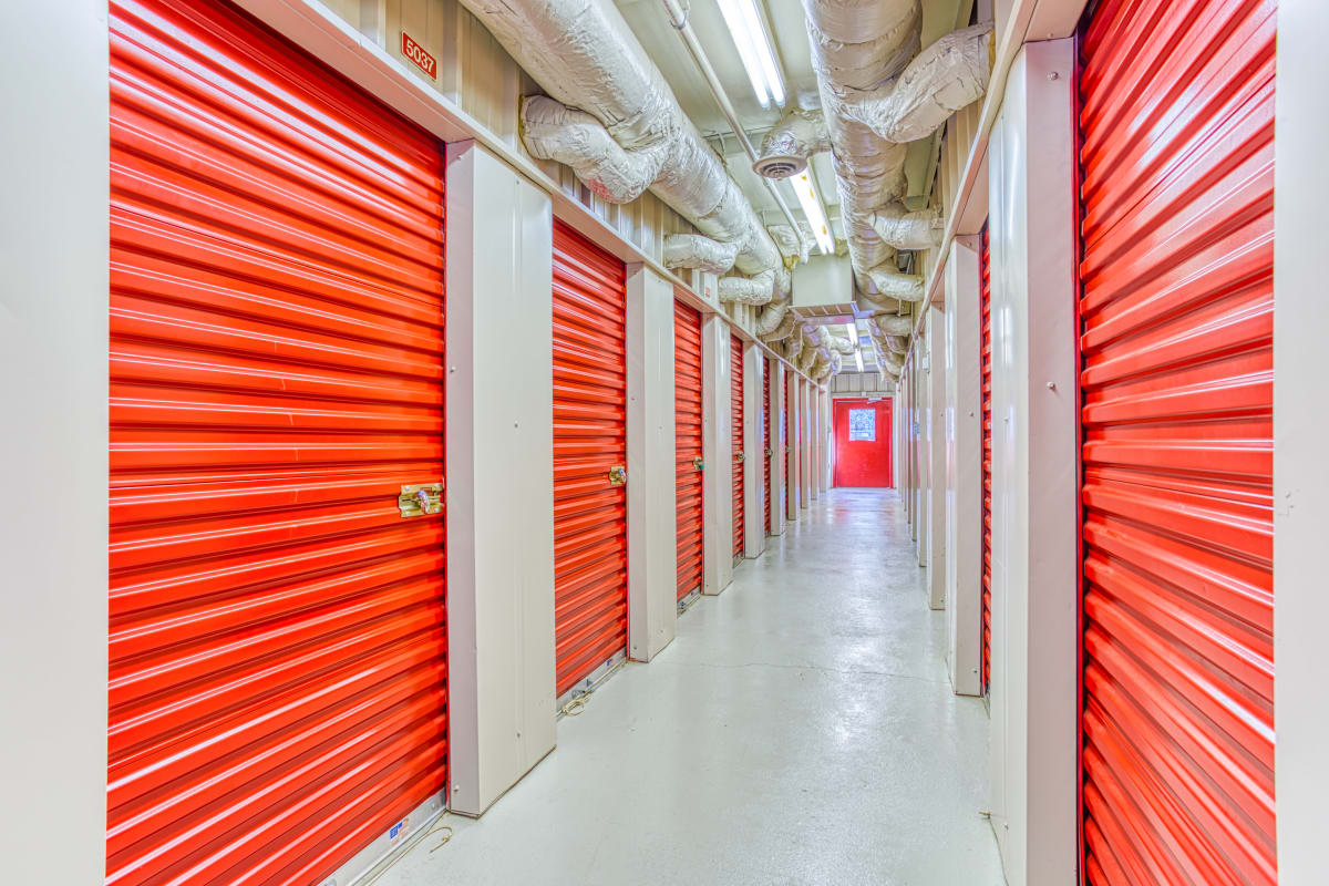 Climate-controlled storage at Devon Self Storage in Cordova, Tennessee