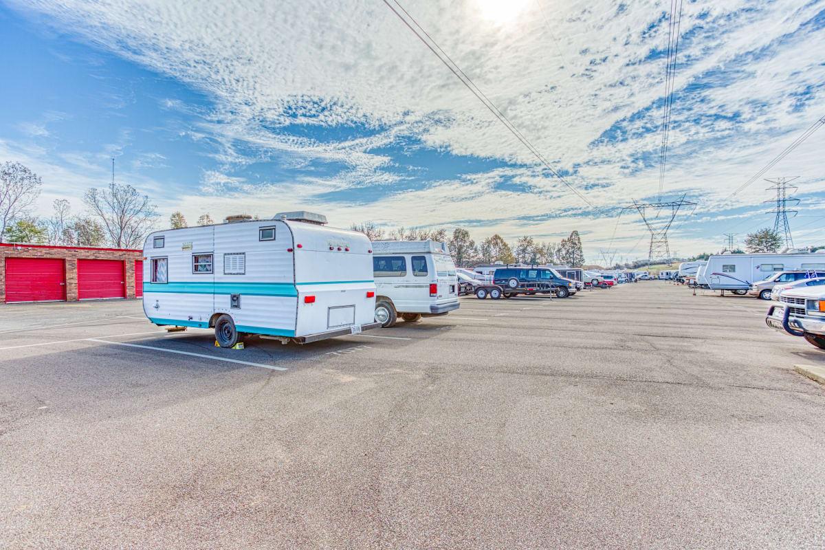 RV, auto & boat storage in Cordova, Tennessee at Devon Self Storage