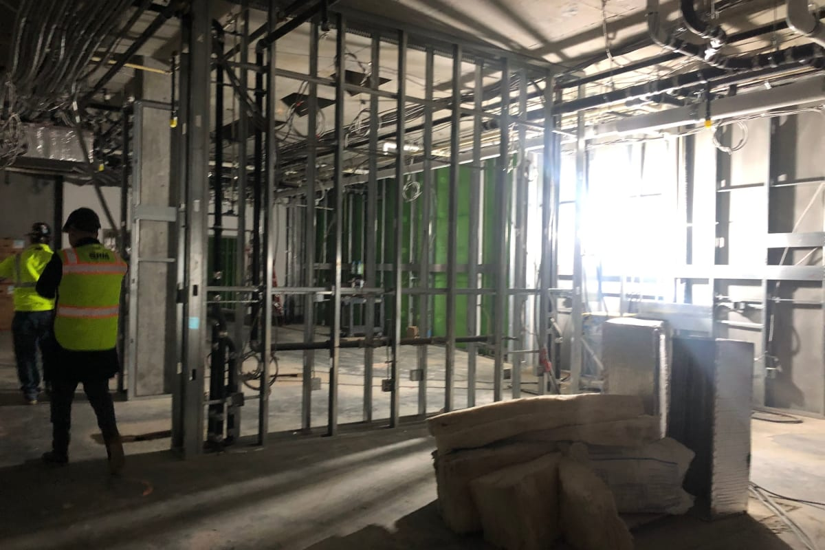Construction at Westmont of Milpitas in Milpitas, California