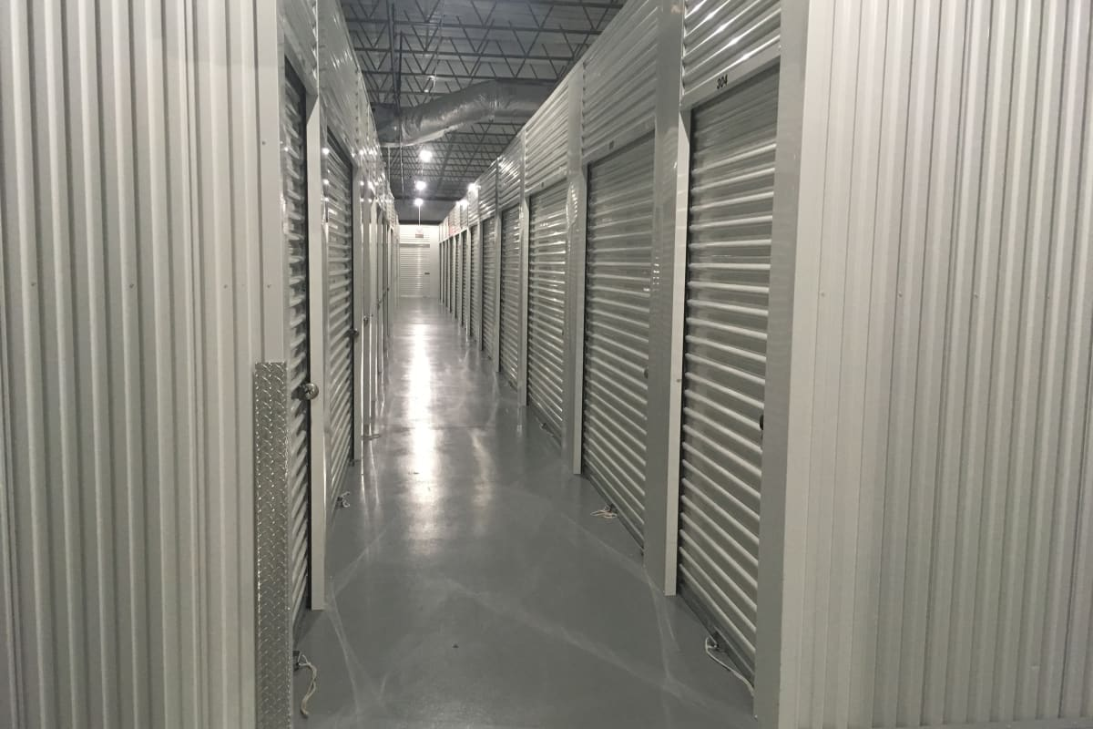 Climate controlled storage units at Storage 365 in Garland, Texas