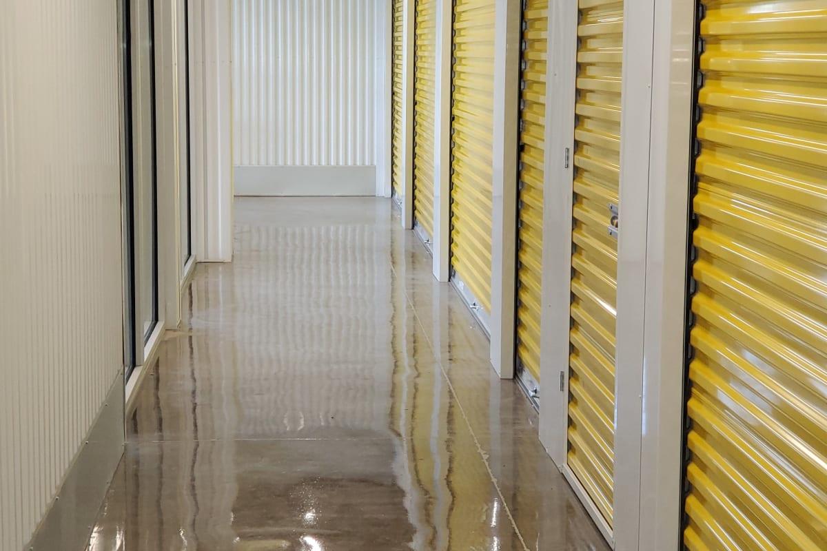 The interior storage units at Storage 365 in Dallas, Texas
