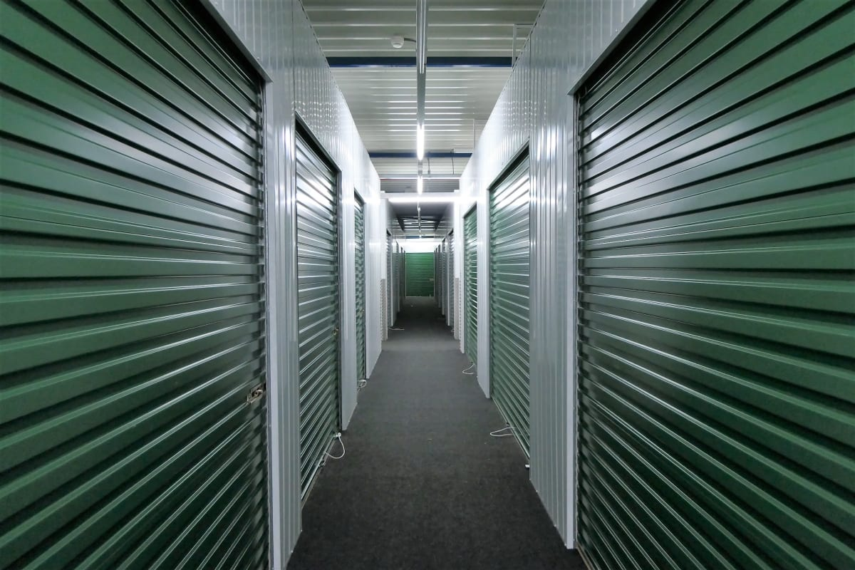 Temperature-controlled storage units at Storage Units in Aiken, South Carolina