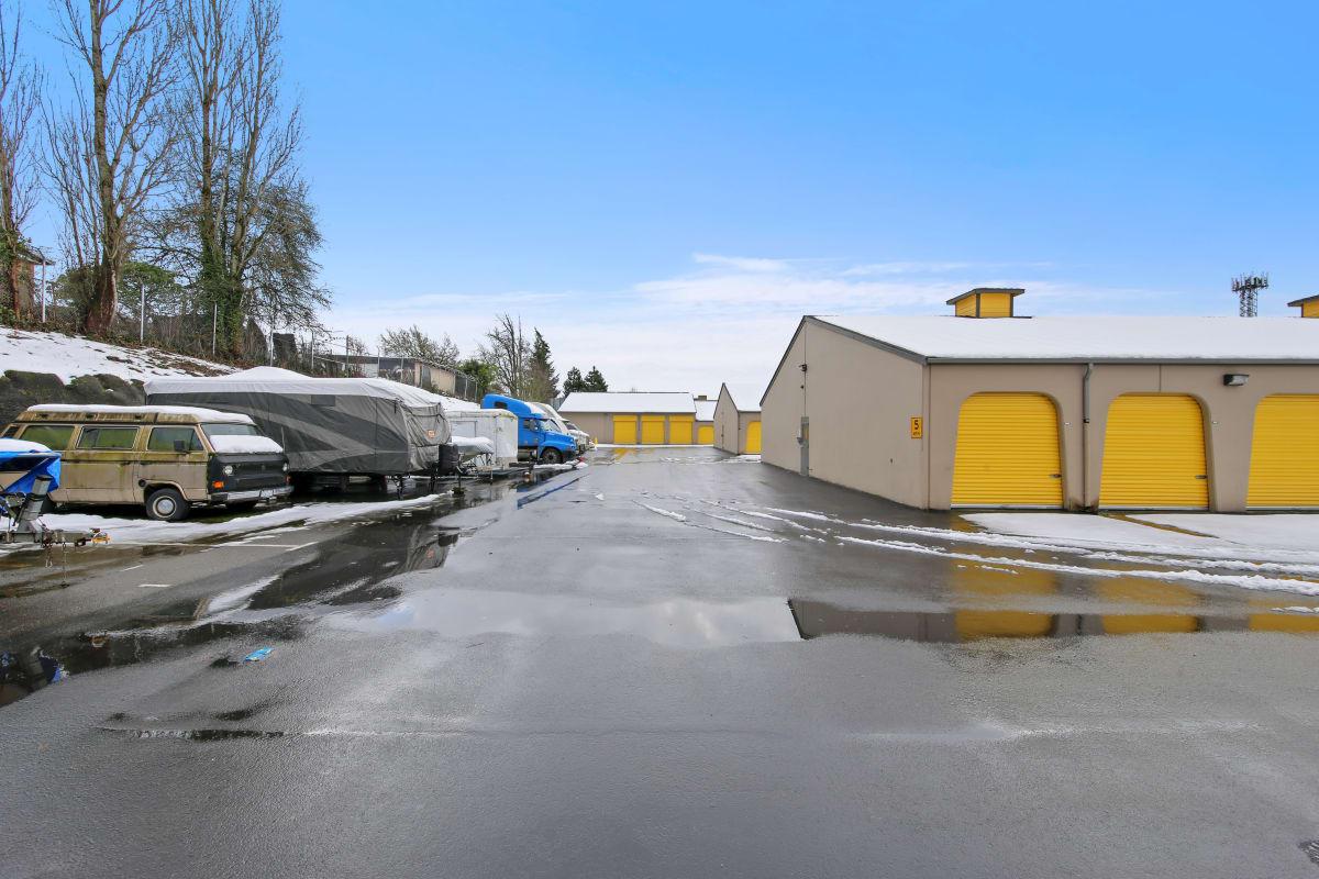 Outdoor units and RV, boat and car parking at Storage Star Federal Way in Federal Way, Washington