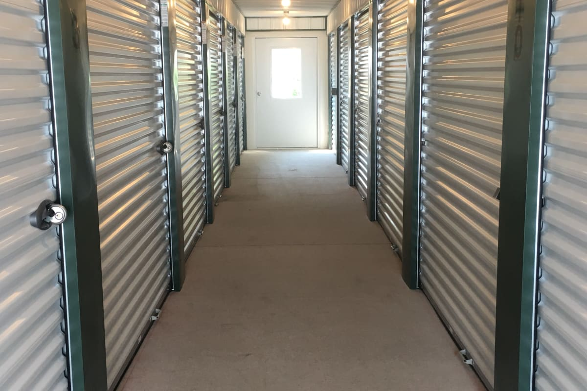 Air-conditioned units at Devon Self Storage