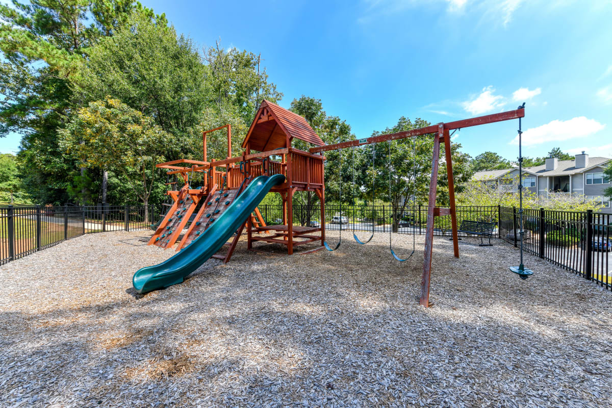 Onsite children's playground at 860 South in Stockbridge, Georgia
