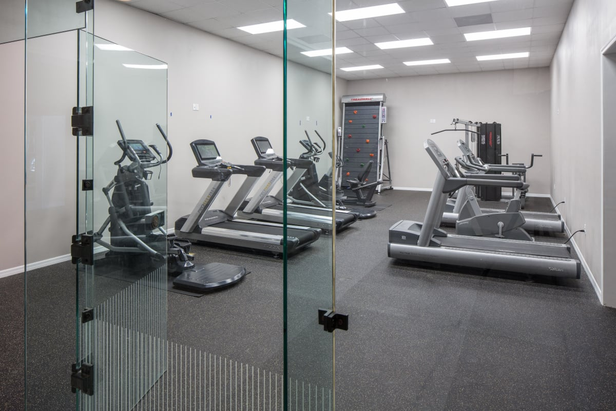 Well-equipped onsite fitness center at The Coast at Ponte Vedra Lakes in Ponte Vedra Beach, Florida