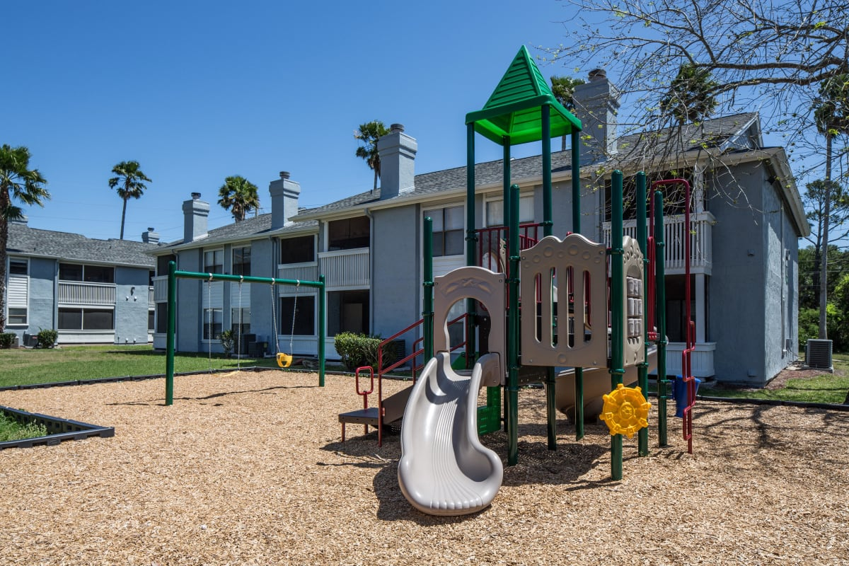 Onsite children's playground at The Coast at Ponte Vedra Lakes in Ponte Vedra Beach, Florida
