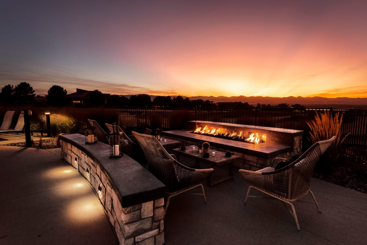 Luxury Swimming Pool at Apartments in Highlands Ranch, Colorado
