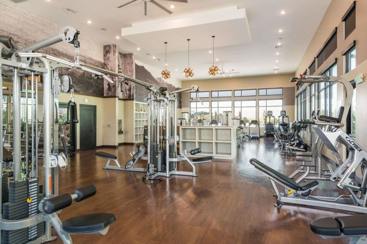 Fitness Center at Solana Lucent Station in Highlands Ranch, Colorado