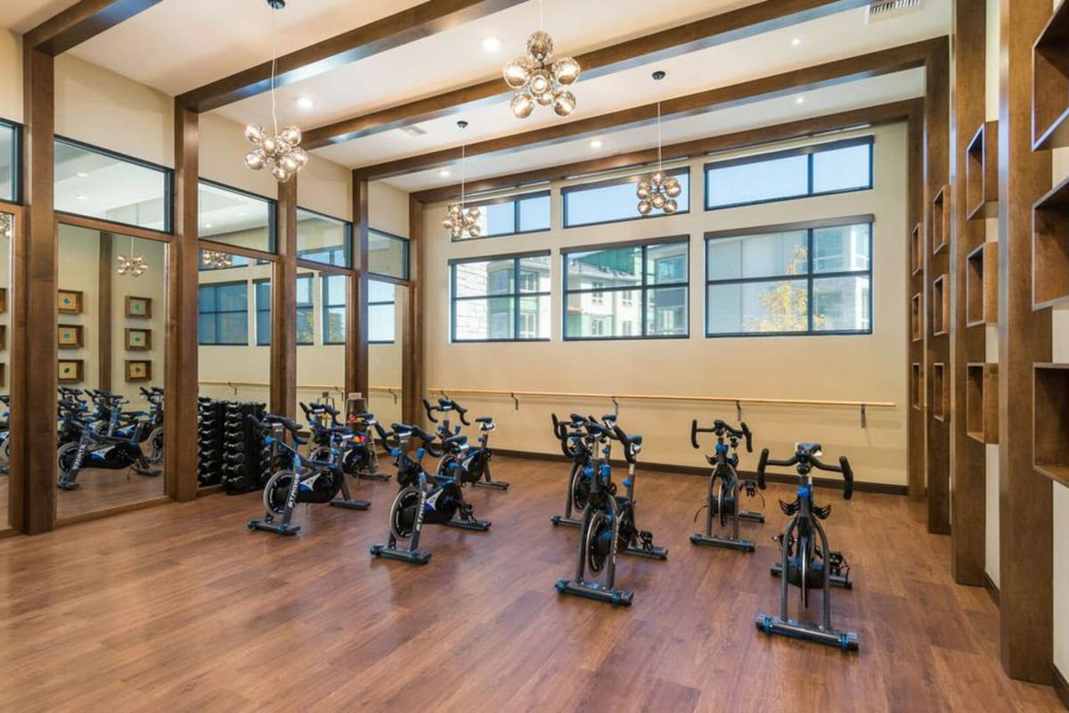 Our Apartments in Highlands Ranch, Colorado offer a spacious Fitness Center