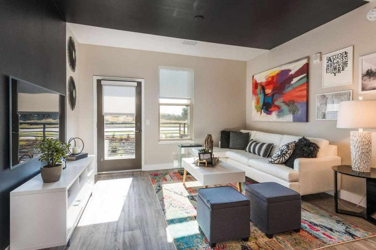 Our Apartments in Highlands Ranch, Colorado showcase a Luxury Living Room