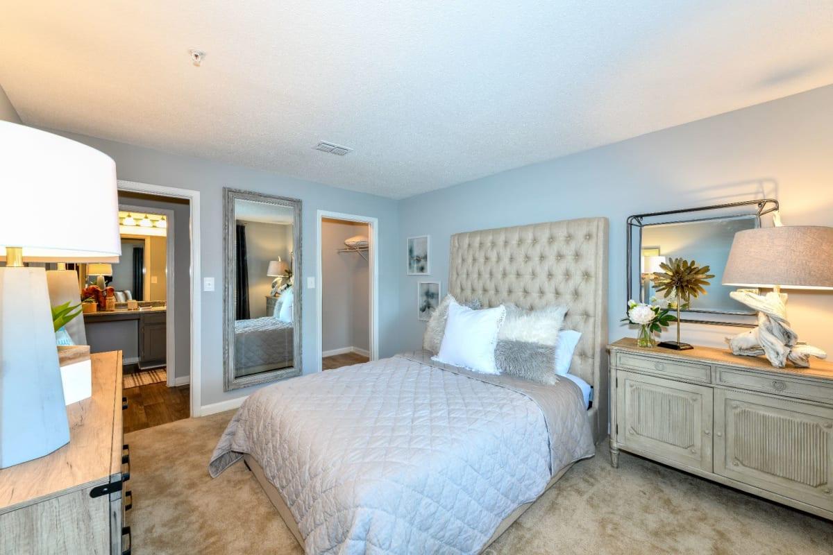 Large bedroom at 900 Dwell in Stockbridge, Georgia