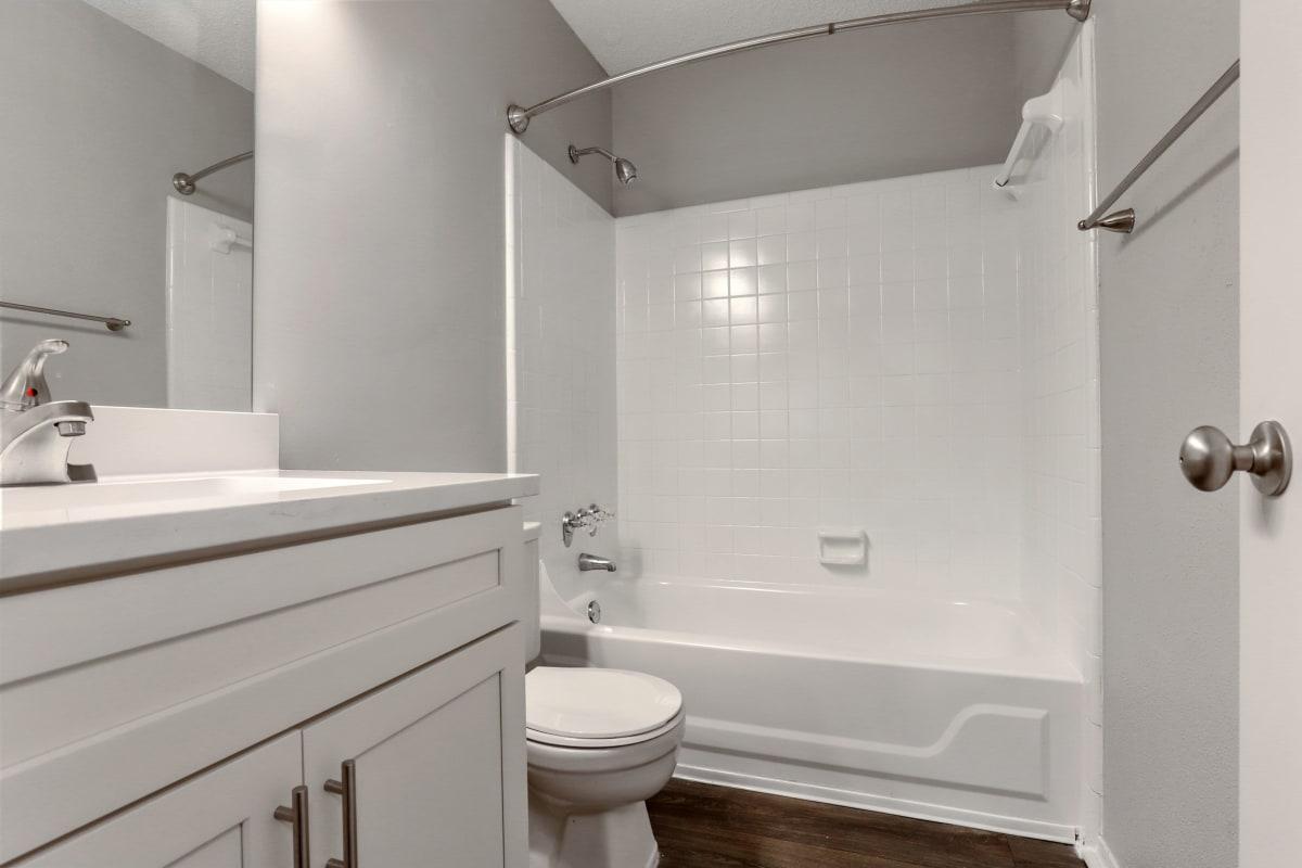 Clean bathroom at The Alcove in Smyrna, Georgia
