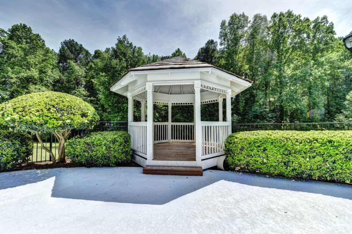 Gazebo at Fields at Peachtree Corners in Norcross, Georgia