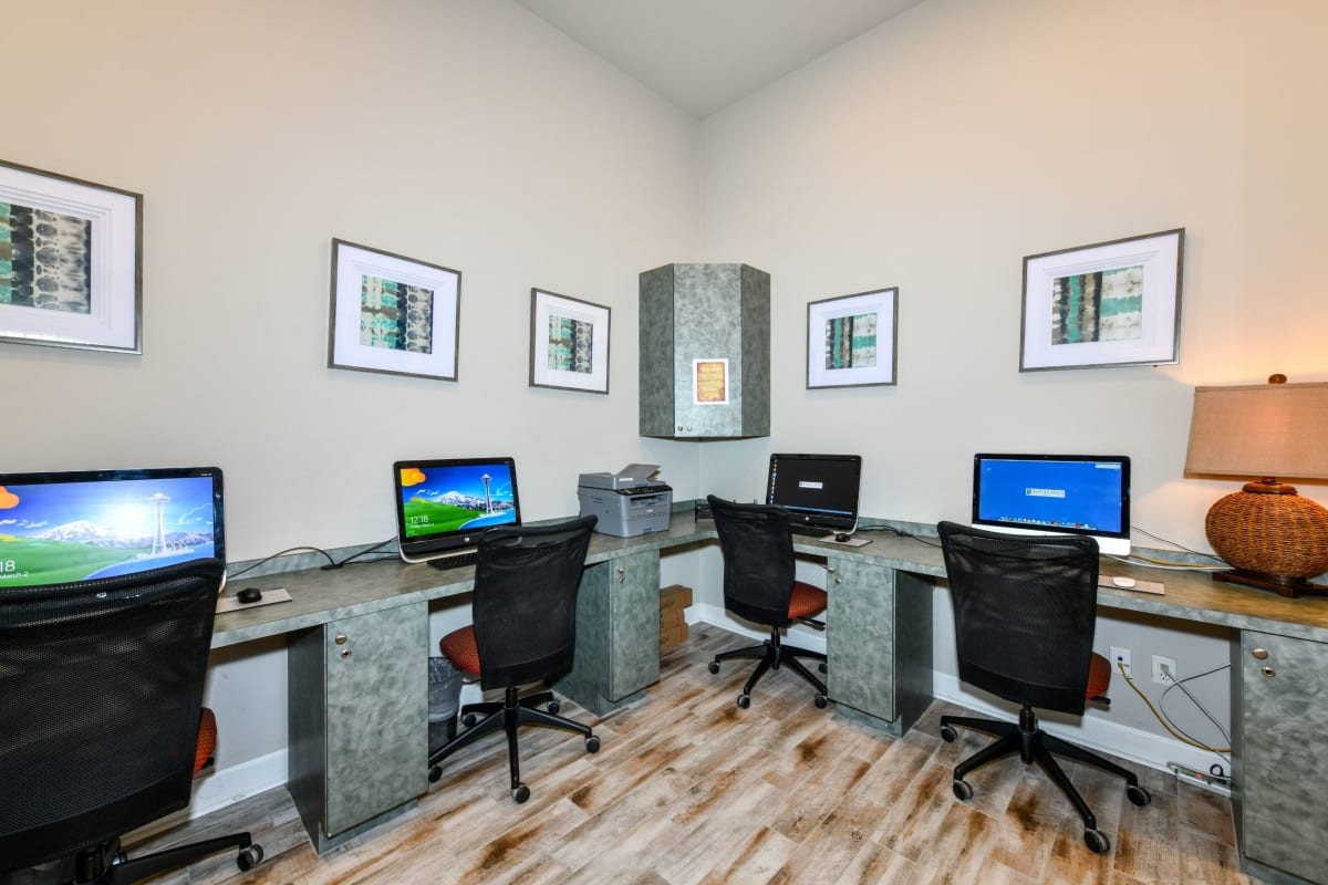 Business center at Courtney Isles in Yulee, Florida