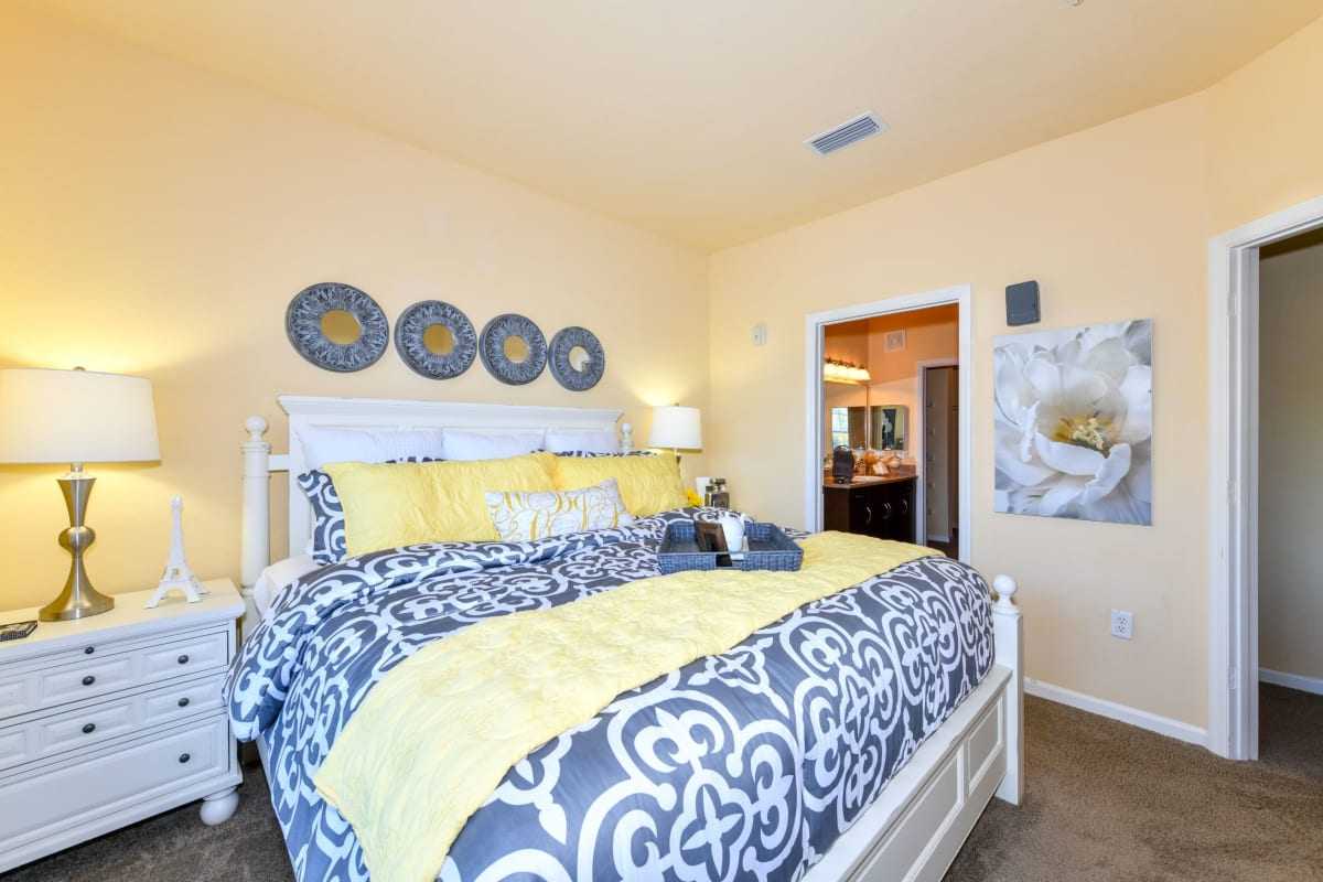 Large, spacious bedroom at Courtney Isles in Yulee, Florida