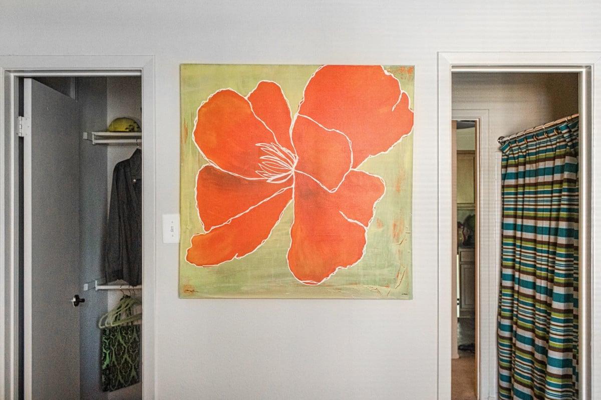 Beautiful artwork at The Views at Laurel Lakes in Laurel, Maryland