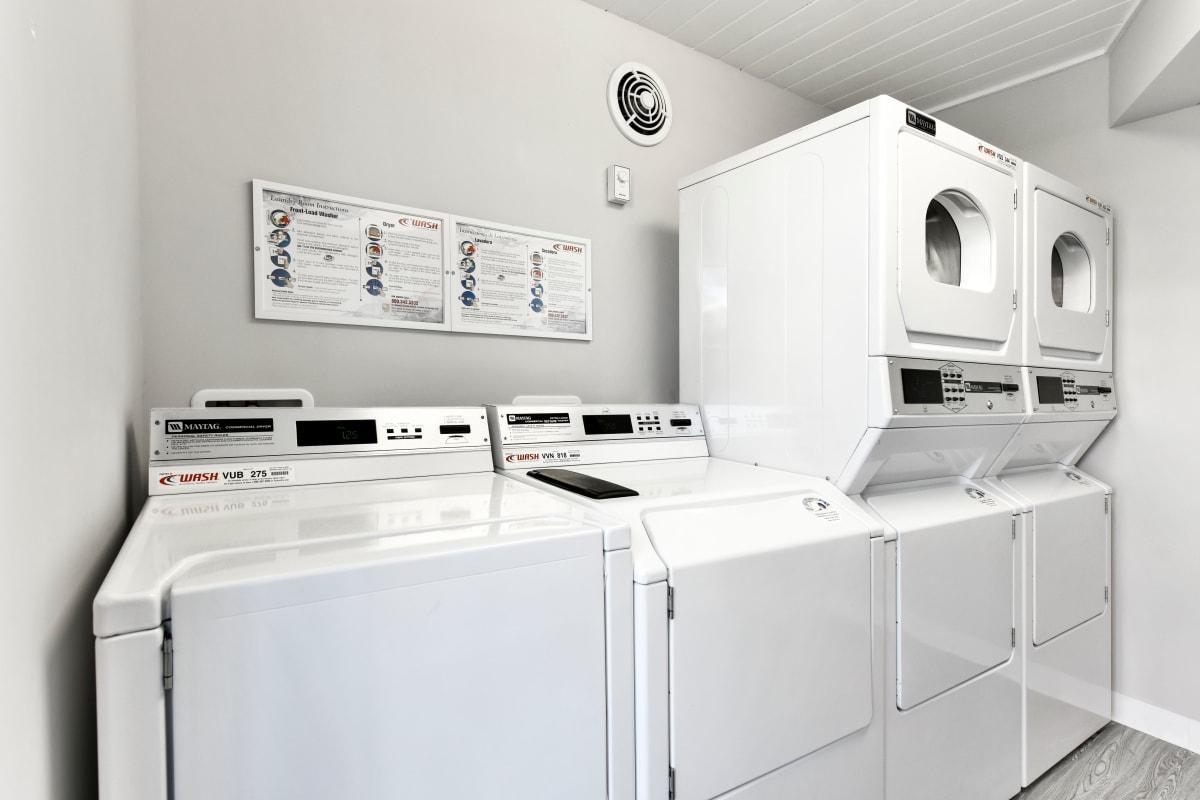 Laundry facilities available at Marina Harbor in Marina del Rey, California