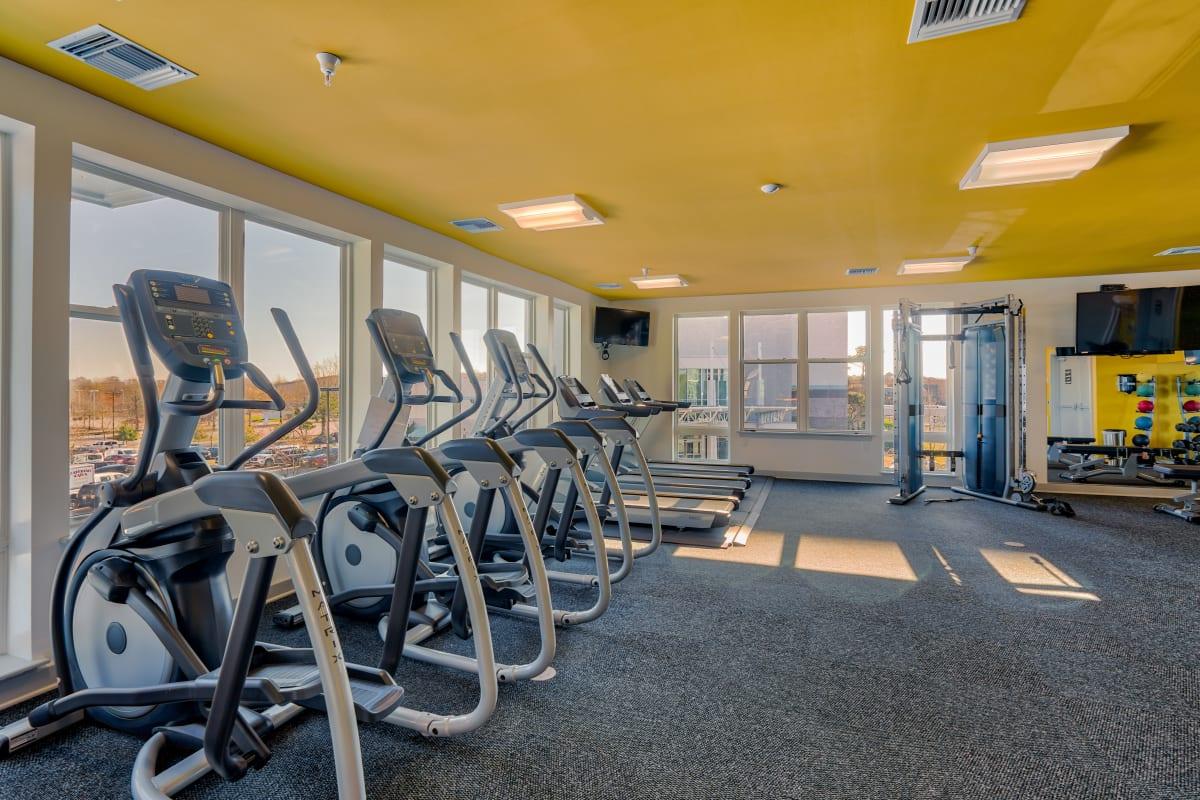 Fitness Center at Indigo 19 in Virginia Beach, Virginia