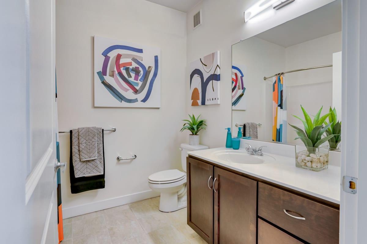 Bathroom at Indigo 19 in Virginia Beach, Virginia