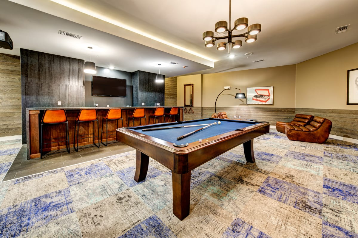 Clubroom at Water Marq in Austin, Texas