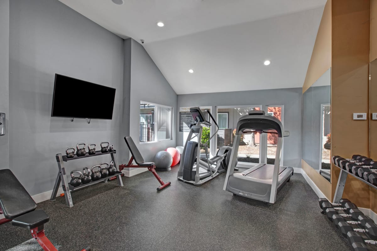 Fitness center at 1408 Casitas at Palm Valley in Avondale, Arizona