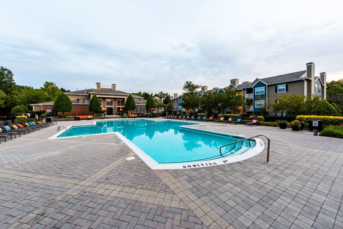 Swimming pool at Marquis at Silverton in Cary, North Carolina