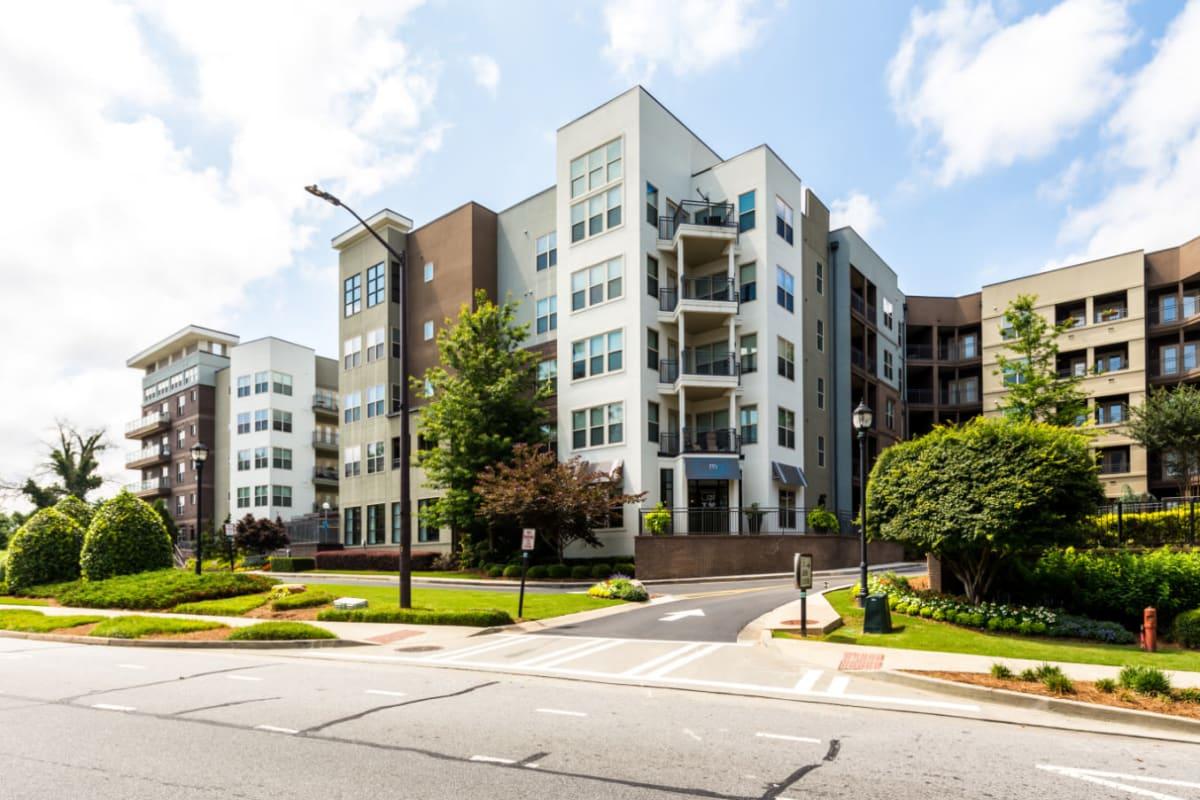 Street entrance into Marq Eight in Atlanta, Georgia