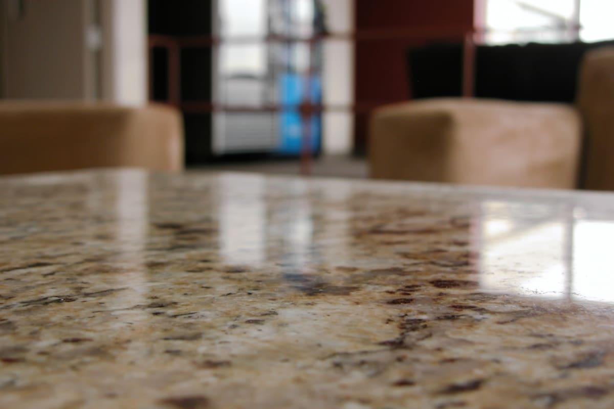 Granite countertops at Enchanted Springs Apartments in Colorado Springs, Colorado