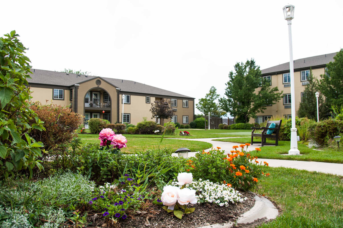 Different floor plans at the senior living community in Sandy