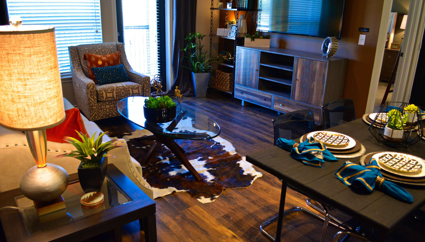 The Abbey at Dominion Crossing offers a state-of-the-art living room in San Antonio, TX