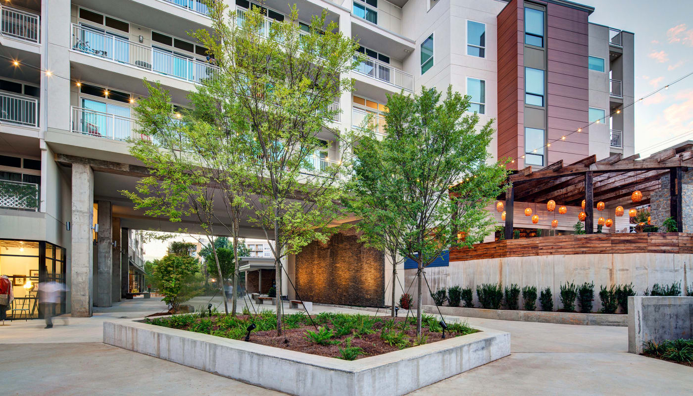 Courtyard at Inman Quarter in Atlanta, Georgia