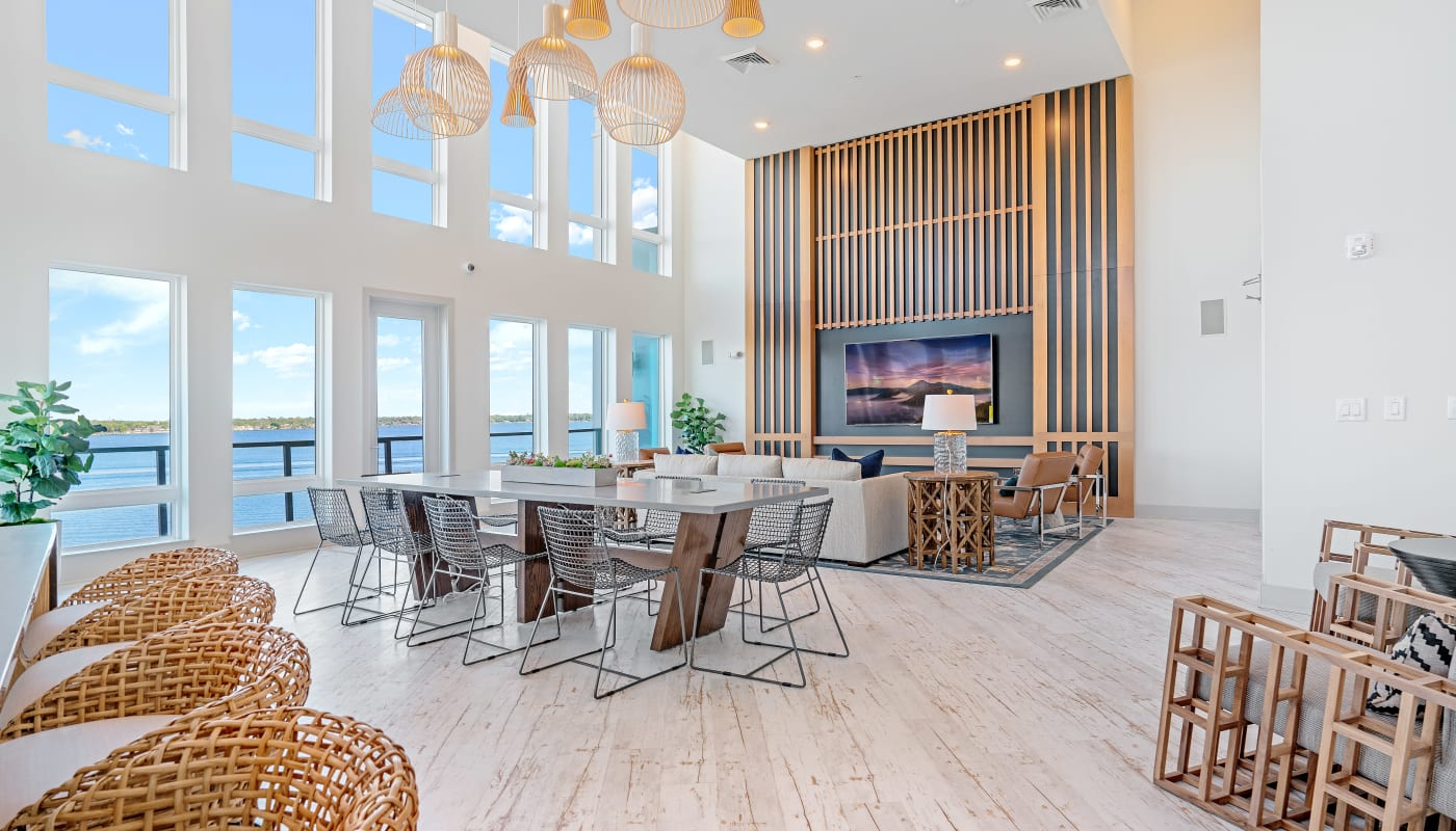 Spacious Living Area at Riverside St. Johns in Jacksonville, Florida