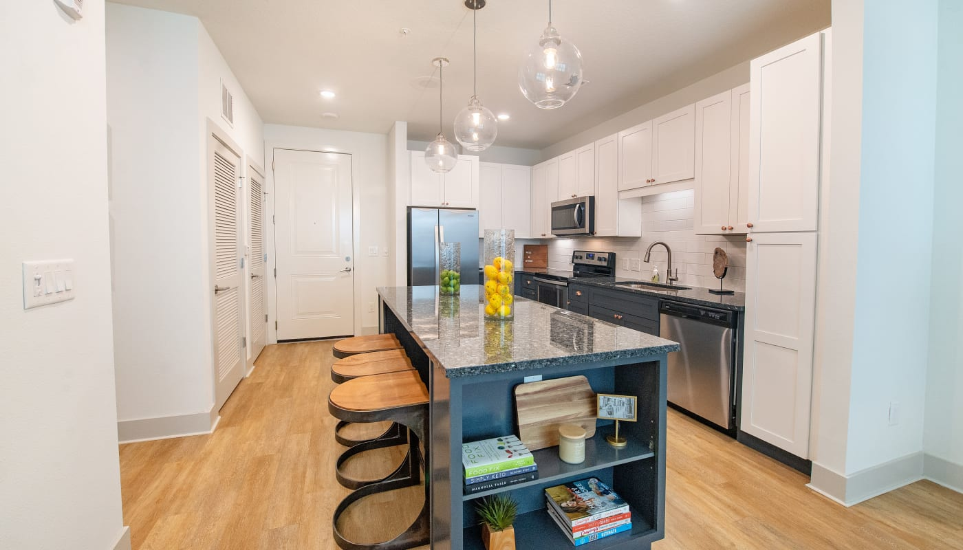 Open Concept Kitchen at Riverside St. Johns in Jacksonville, Florida
