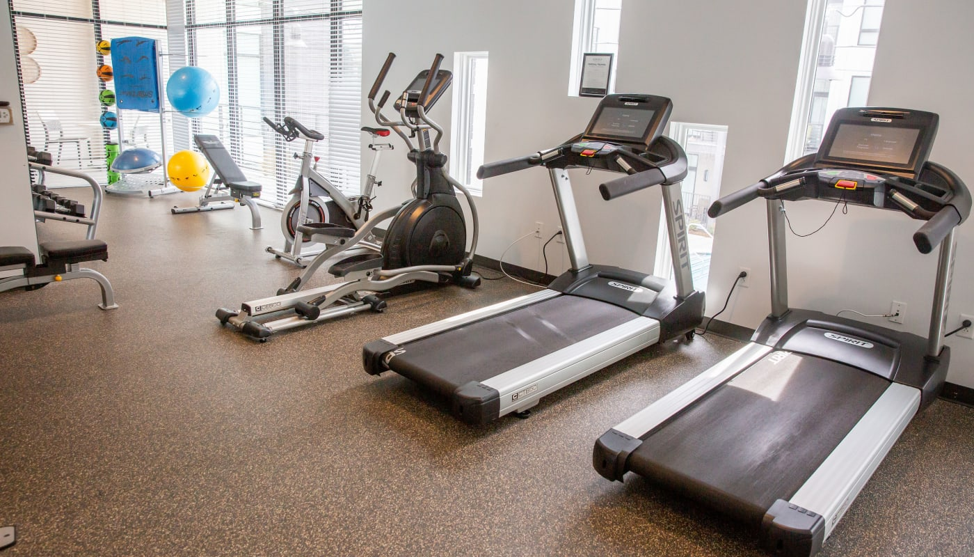 Treadmills at Village 21 in Nashville, Tennessee