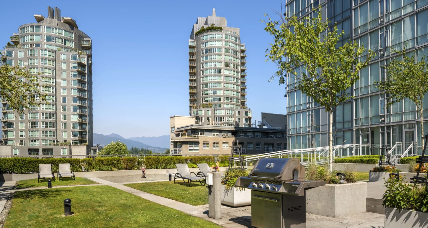 Exterior at Bayview at Coal Harbour in Vancouver, British Columbia